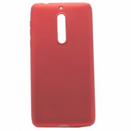 Sony Xperia XA2 silikoonkaitse Shine punane