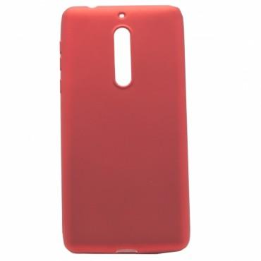 Nokia 8 silikoonkaitse Shine punane