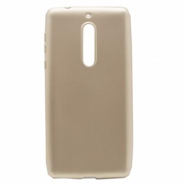 Nokia 6 silikoonkaitse Shine kuldne