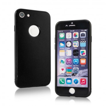 Apple Iphone 5 / 5s / SE silikoonkaitse 360 Matt Black