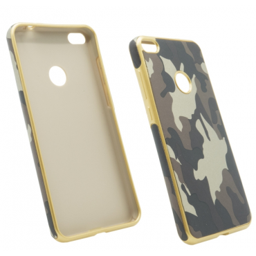 Samsung S8 / G950 Army silicone case pruun