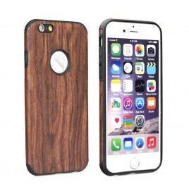 Apple Iphone 6 / 6s silikoonkaitse Wood