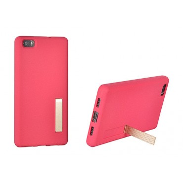Samsung J3 (2016) / J320 Stand Matt silikoonkaitse pink