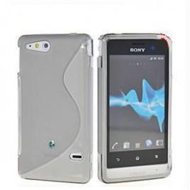 Sony Xperia Go (ST27i) silikoonkaitse läbipaistev
