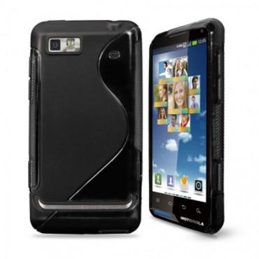 Motorola Moto XT615 / Motoluxe silikoonkaitse must