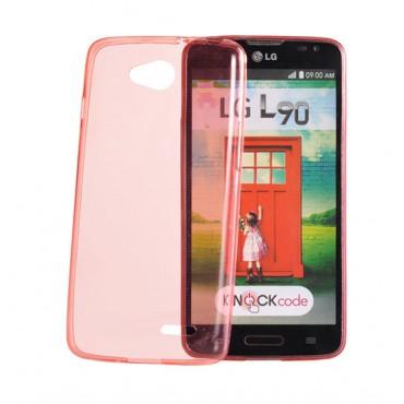 Huawei P9 Lite silikoonkaitse läbipaistev õhuke roosa