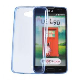 Huawei P9 Lite silikoonkaitse läbipaistev õhuke sinine