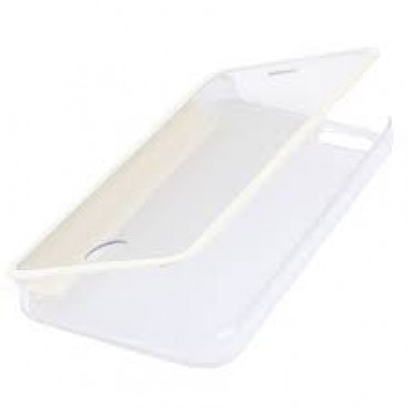 Apple Iphone 6 / 6s Book Clear kaitsekott valge