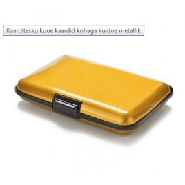 Krediitkaarditasku 6 kaardile kollane