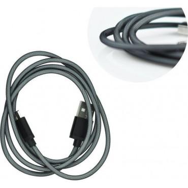 Micro-USB tugevdatud kaabliga USB-kaabel