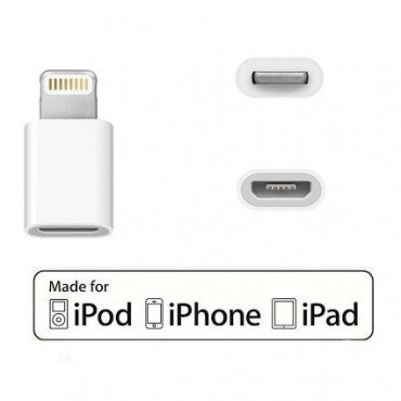 Apple Iphone / Ipad Lightning adapter MicroUSB-lt