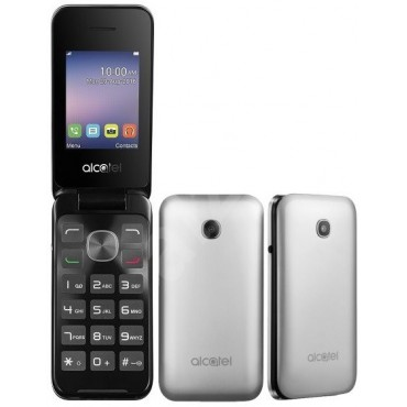 Uus Alcatel One Touch 2051 DualSim hõbe-must