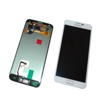 Samsung G900 Galaxy S5 ekraanimoodul valge