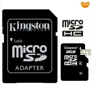 MicroSD 8gb mälukaart (class 4)