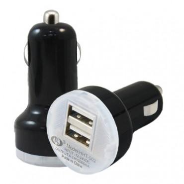 Autolaadija adapter 2 pesaga