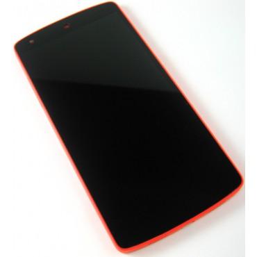LG Nexus 5 (D821) ekraanimoodul punane