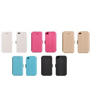 Huawei P8 Lite Book kaitsekott silikoonraamiga erinevad värvid