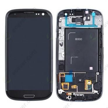 Samsung i9300 Galaxy S3 ekraanimoodul must